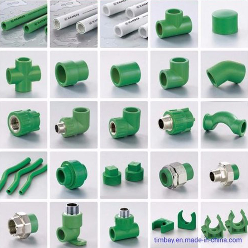 PPR Pipe Line Fittings And Installation